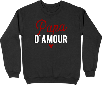 Pull homme papa d'amour