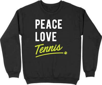 Pull homme peace, love, tennis