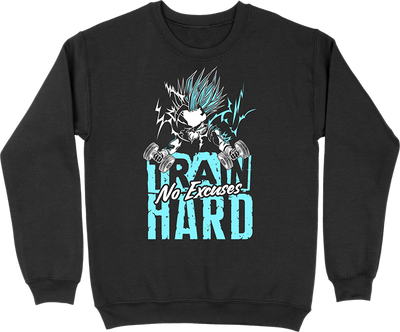 Pull homme train hard