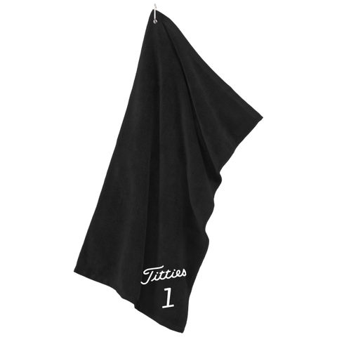 Titties Golf Towel