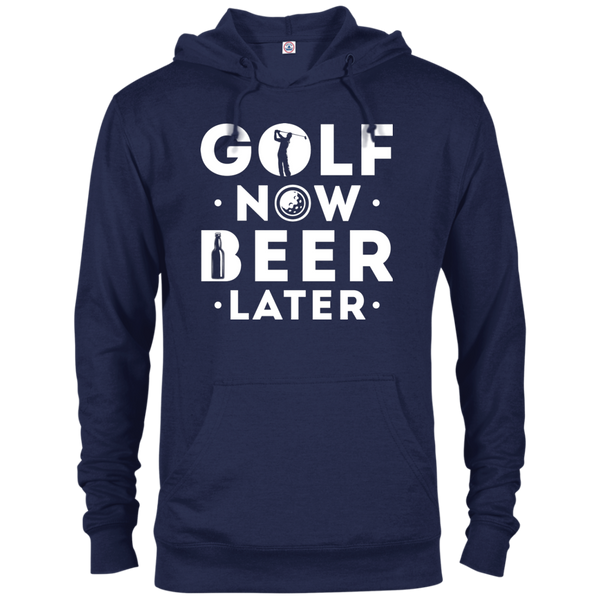Golf Now Beer Later Hoodie