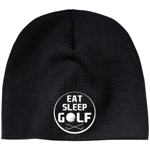 Eat Sleep Golf Beanie