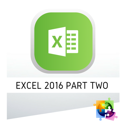 Microsoft Excel 2016 Part Two