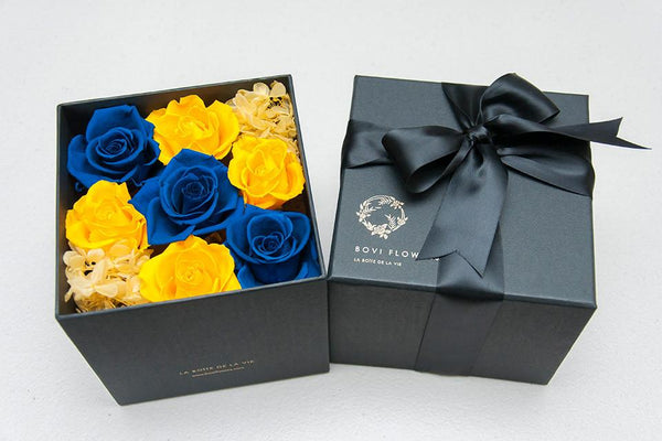 Blue & Gold - Bovi Flowers