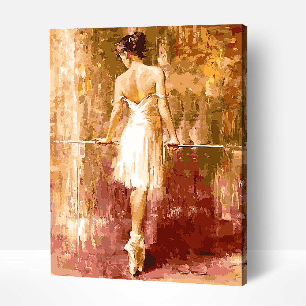 Ballerina's Back - Paint By Numbers Kit For Adult