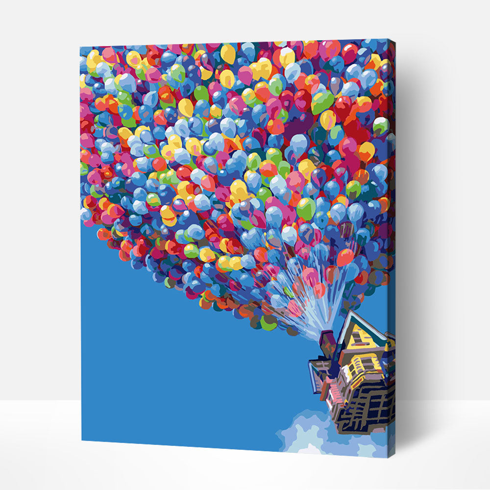 Up Up and Away - Paint By Numbers Kit For Adult