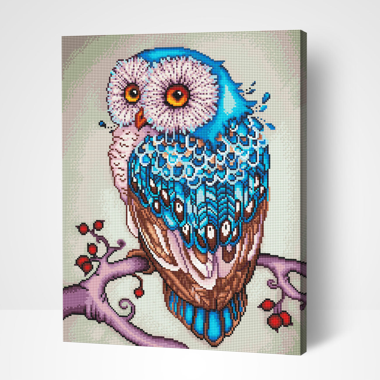 Shining Owl - Diamond Painting