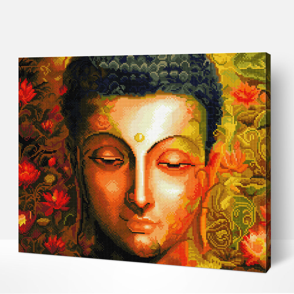 Divine Buddha - Diamond Painting