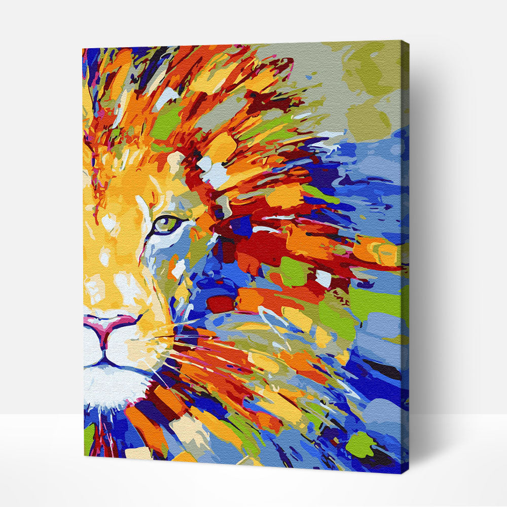 Color-rich Lion