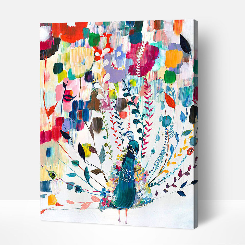 The Beauty of the Peacock - Paint By Numbers Kit For Adult