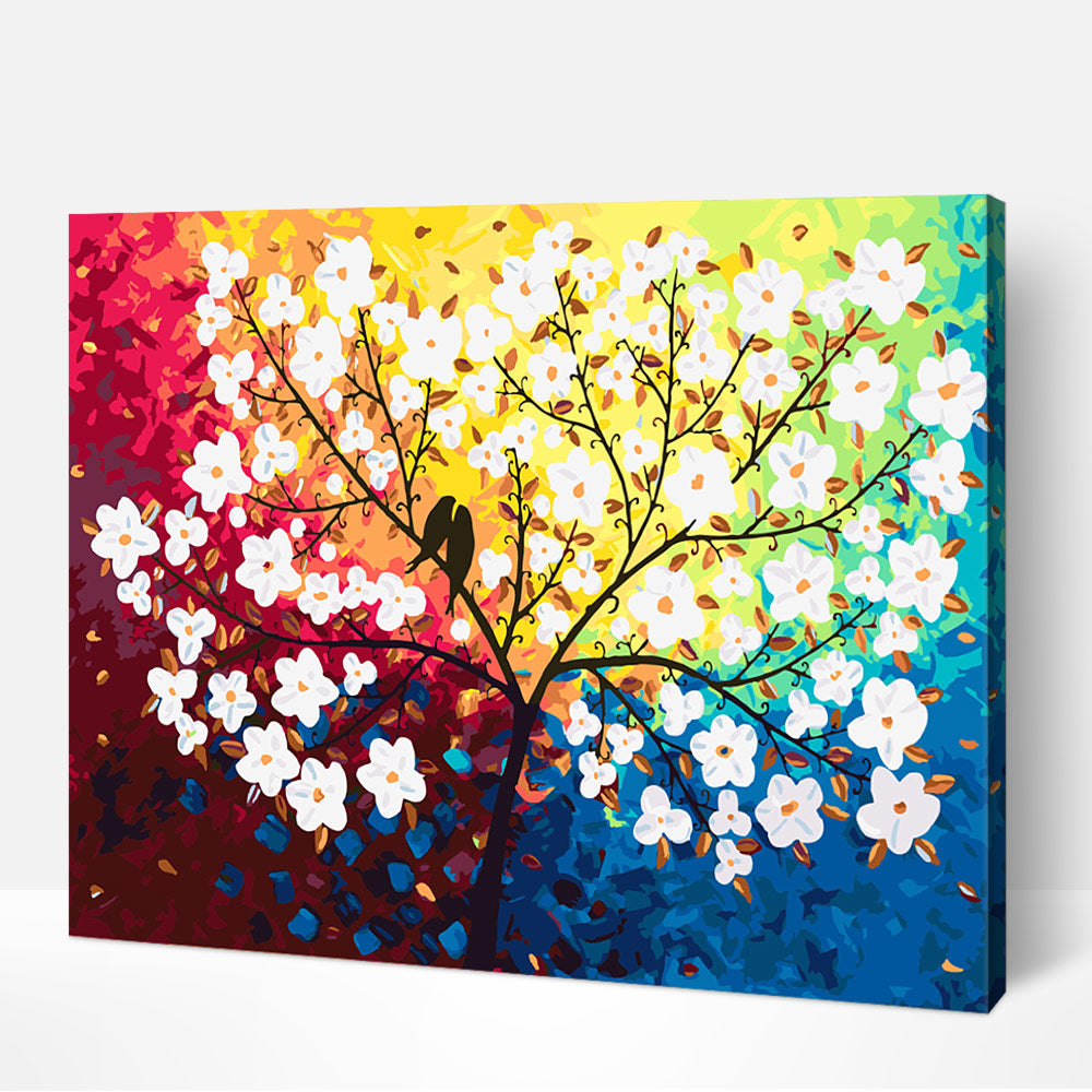 Blossom Tree Paint by Numbers for Adult