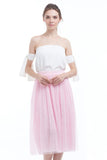 BACKORDER: Midi tulle skirt (Rose)