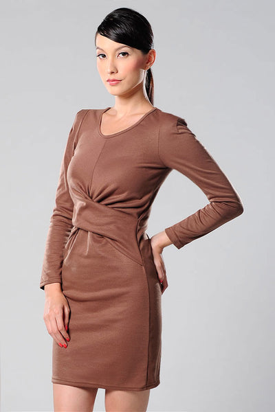 CLEARANCE: Knot-over dress