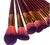 Magenta Makeup Brush Set
