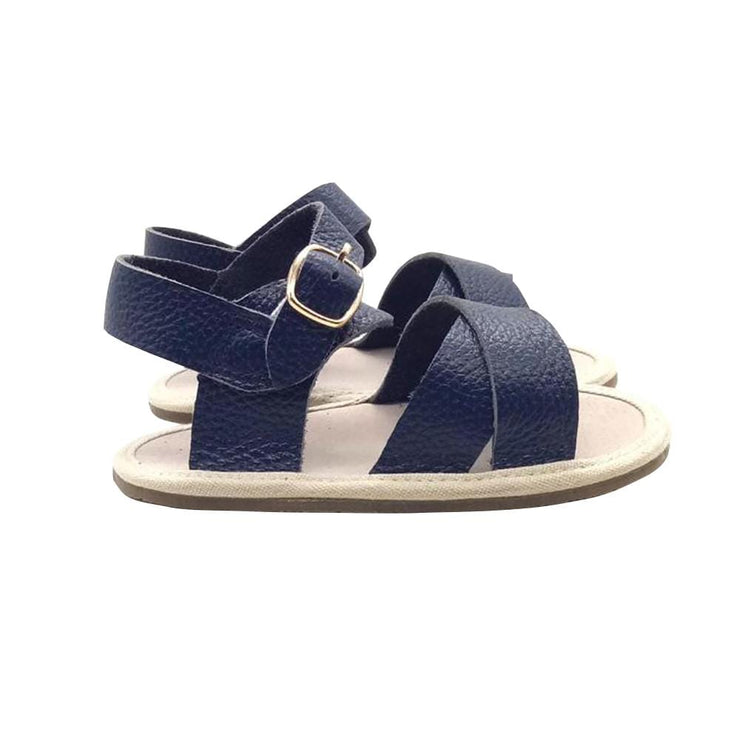 THE NOMAD SANDALS - navy