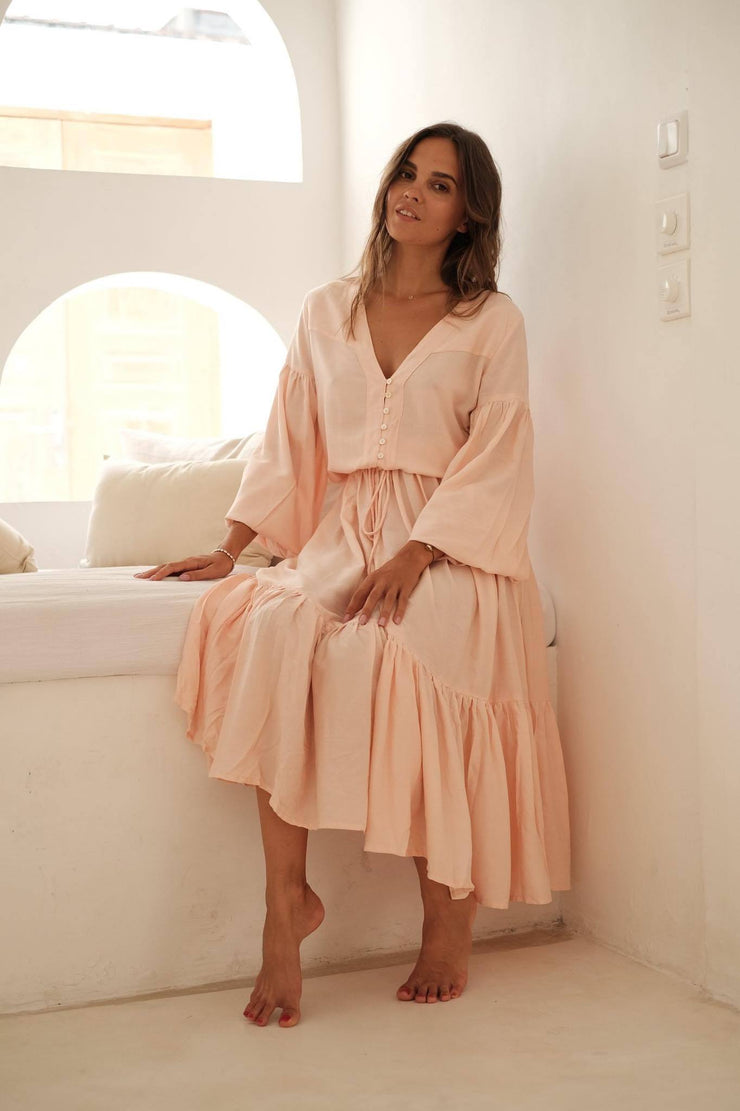 The Stevie Gown - blush