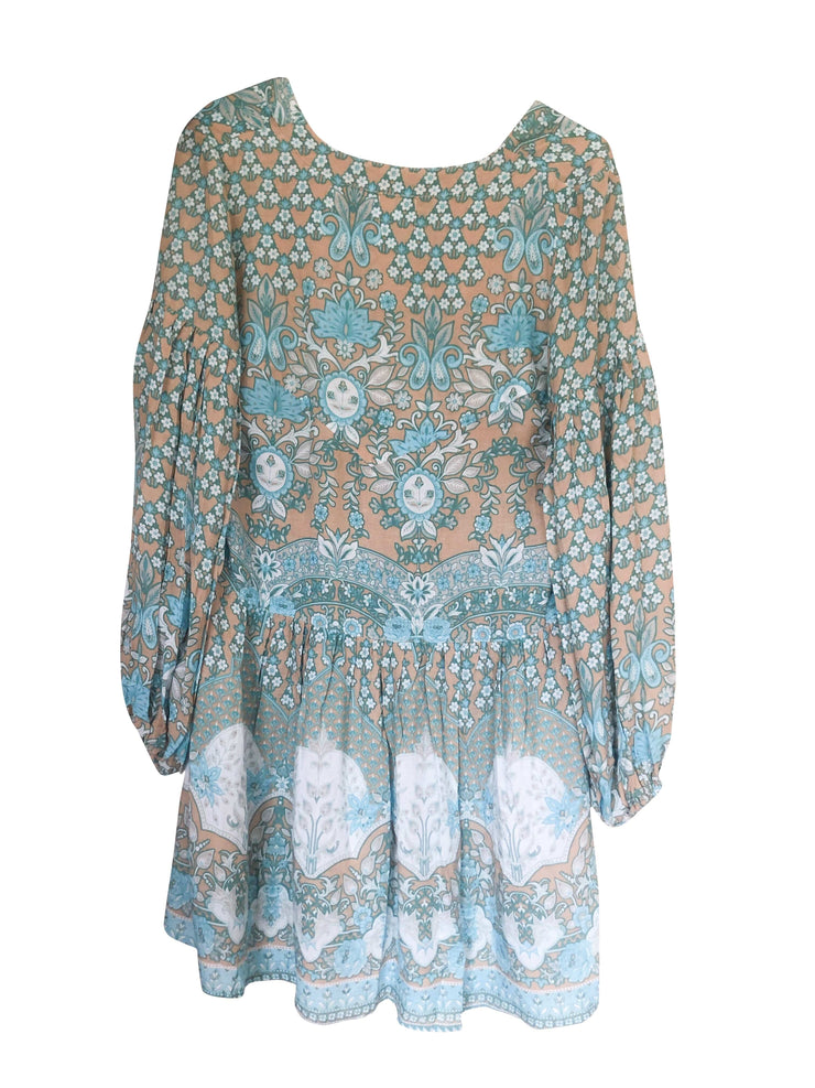 Lone Star Mini Dress - turquoise