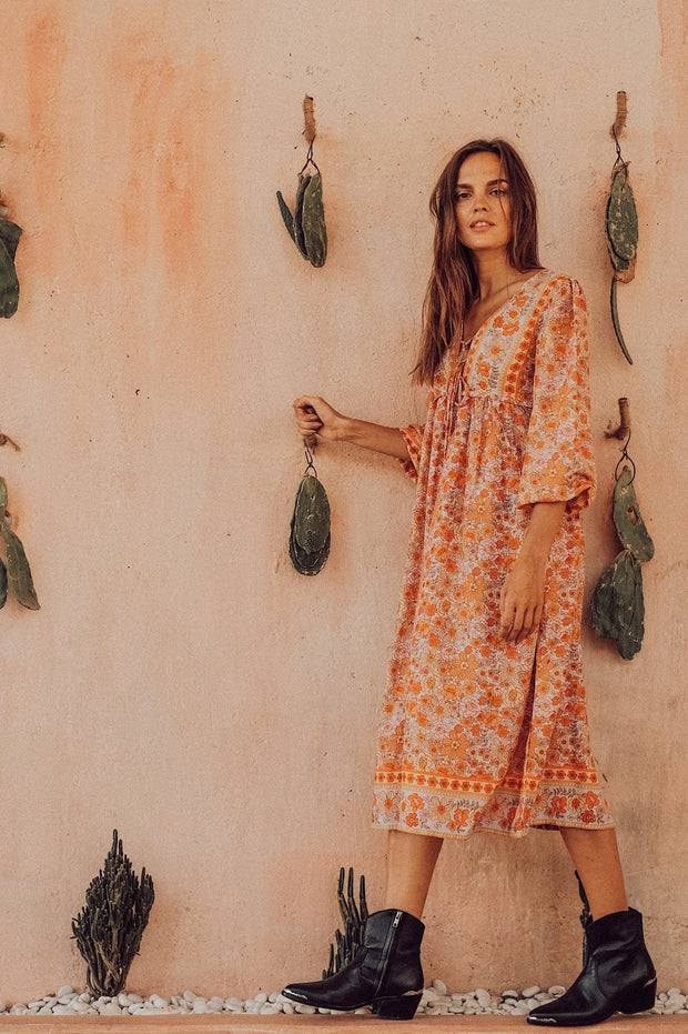 Endless Journey Boho Gown - sunrise