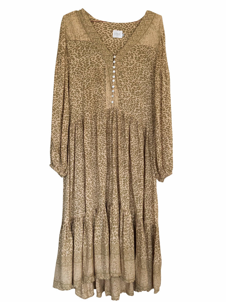 Lone Star Gown - leopard