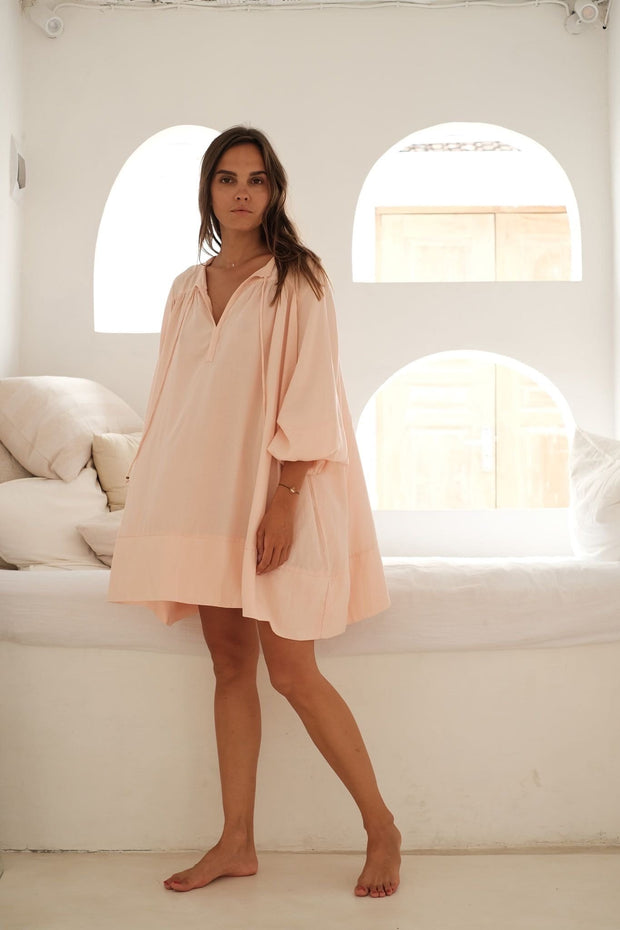 Gold Dust Tunic - blush