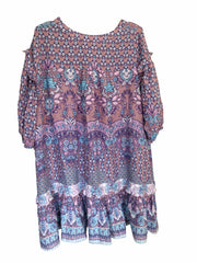 Indiana Smock Dress - amethyst