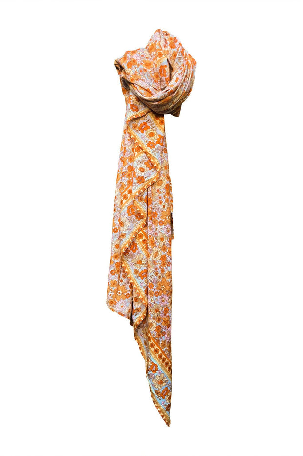Woodstock Travel Scarf - sunrise
