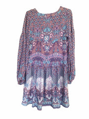 Lone Star Mini Dress - amethyst