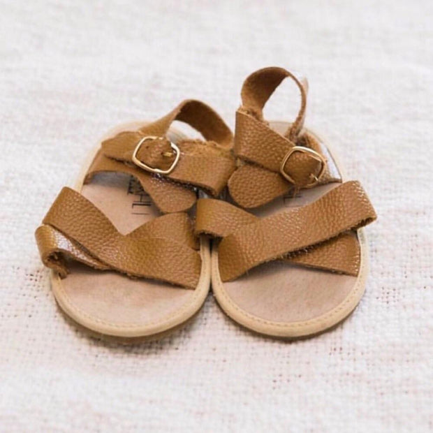 NOMAD SANDALS - brown