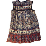 GYPSY DREAMER DRESS - maroon/brown