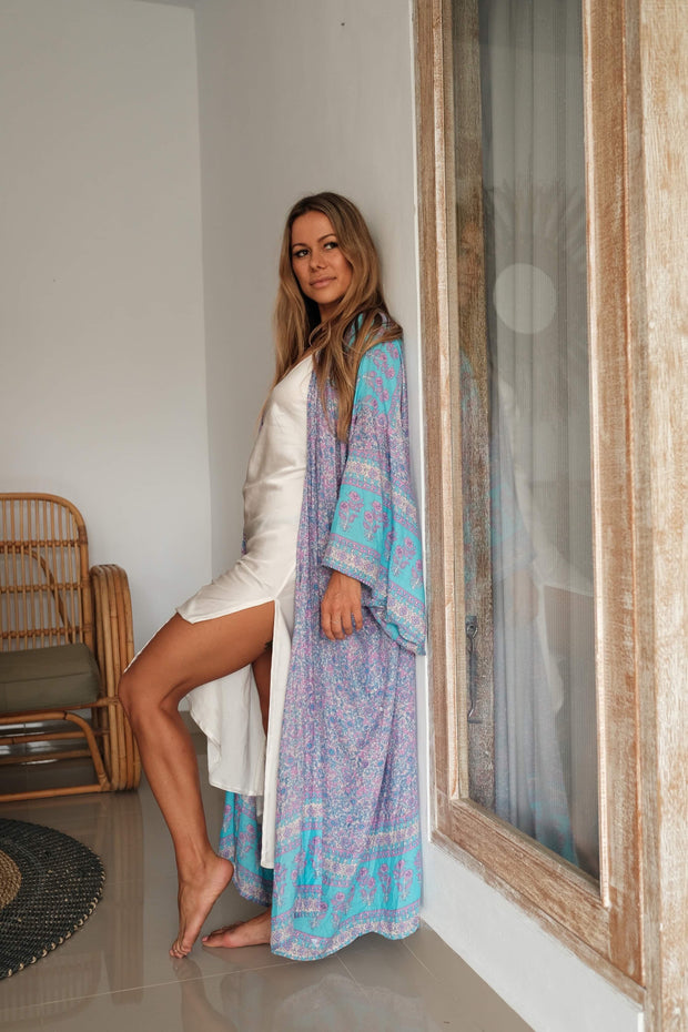 Gypsy Moon Robe - ocean