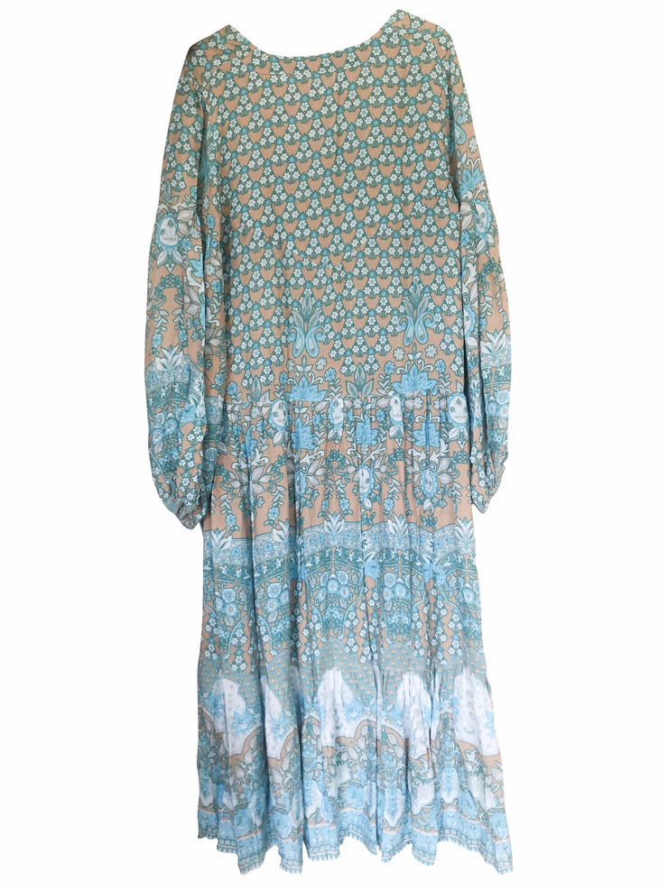 *PRE-ORDER* Lone Star Gown - turquoise
