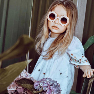 WILDFLOWER SUNNIES - peach