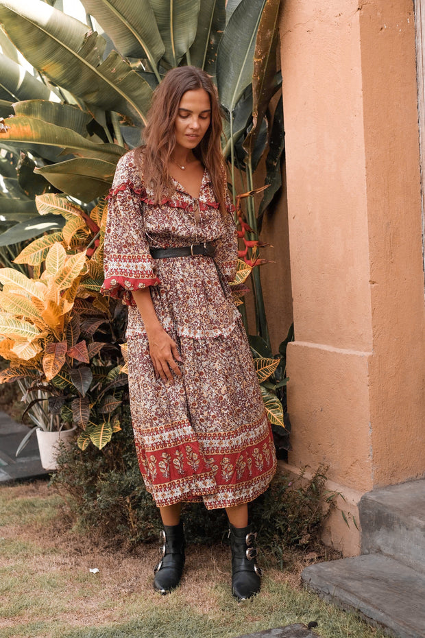 *PRE-ORDER* Gypsy Moon Gown - earth