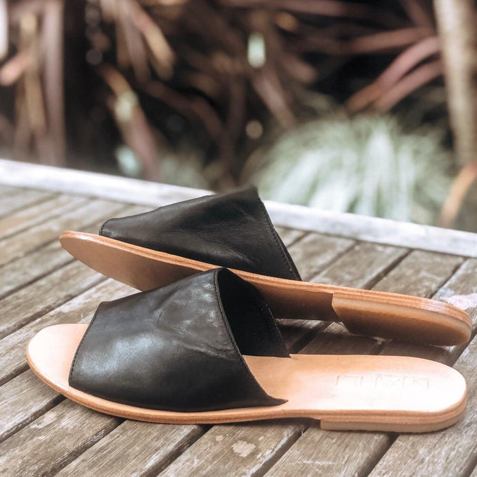 ULUWATU SLIDES - black