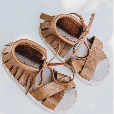 THE SUNDREAMER SANDALS - brown