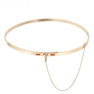 High Fashion Choker Necklace rose gold
