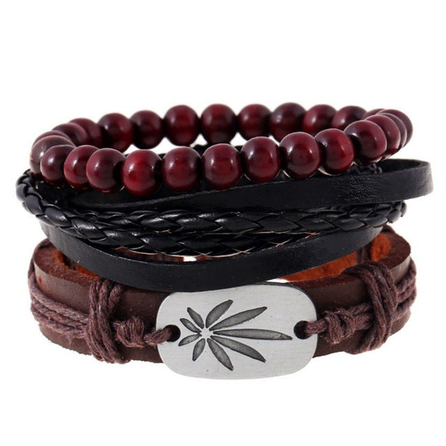 Wrap Leather Bracelet | Free Shipping