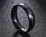 Black Lord of the Ring Statement Ring | Free Shipping