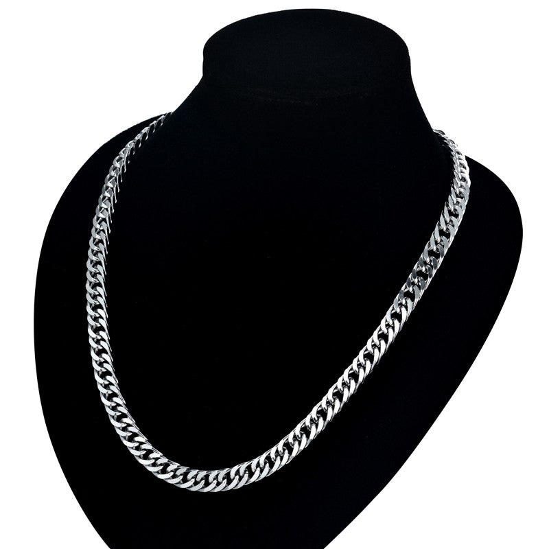 Long Chain Necklace For Men