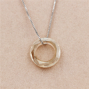 Collier Zircon Pendant Necklace