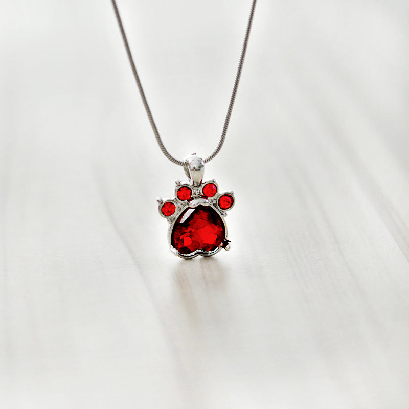 Birthstone Necklace | Free Shipping