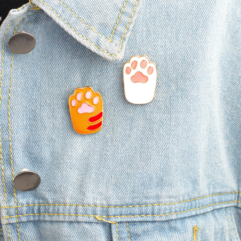 Cat and Dog paw design pin/brooches | Free Shipping
