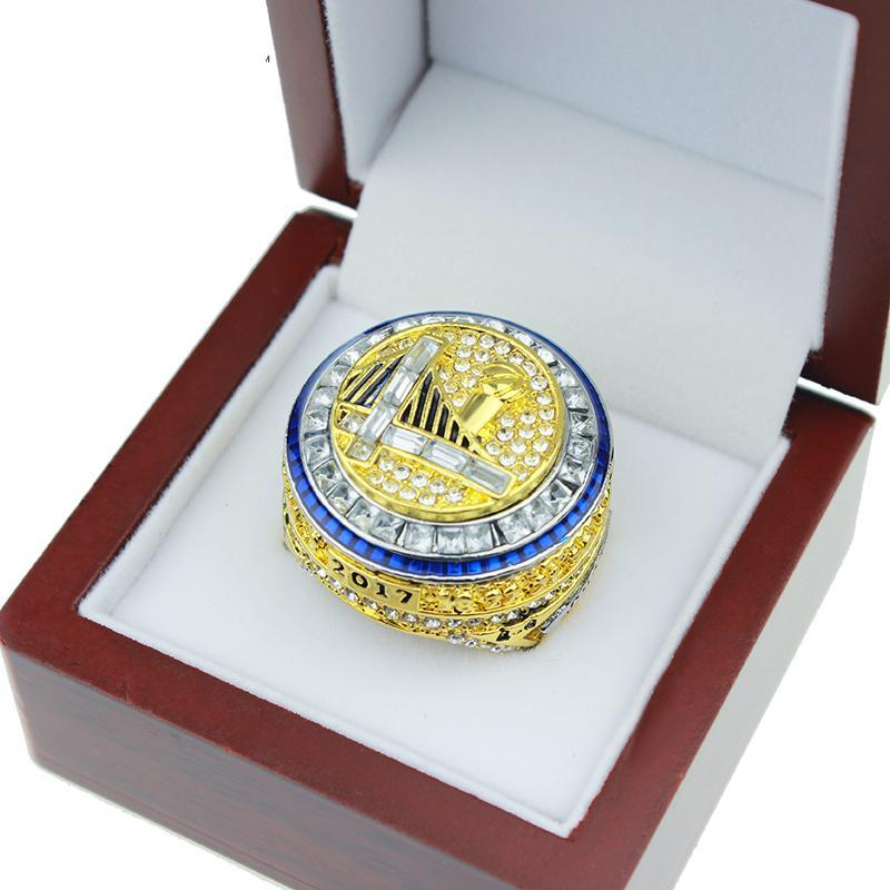 2017 Golden State Warriors DURANT and CURRY Basketball World Championship Ring