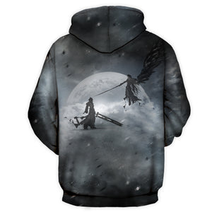 Sephiroth All Over Print Hoodie