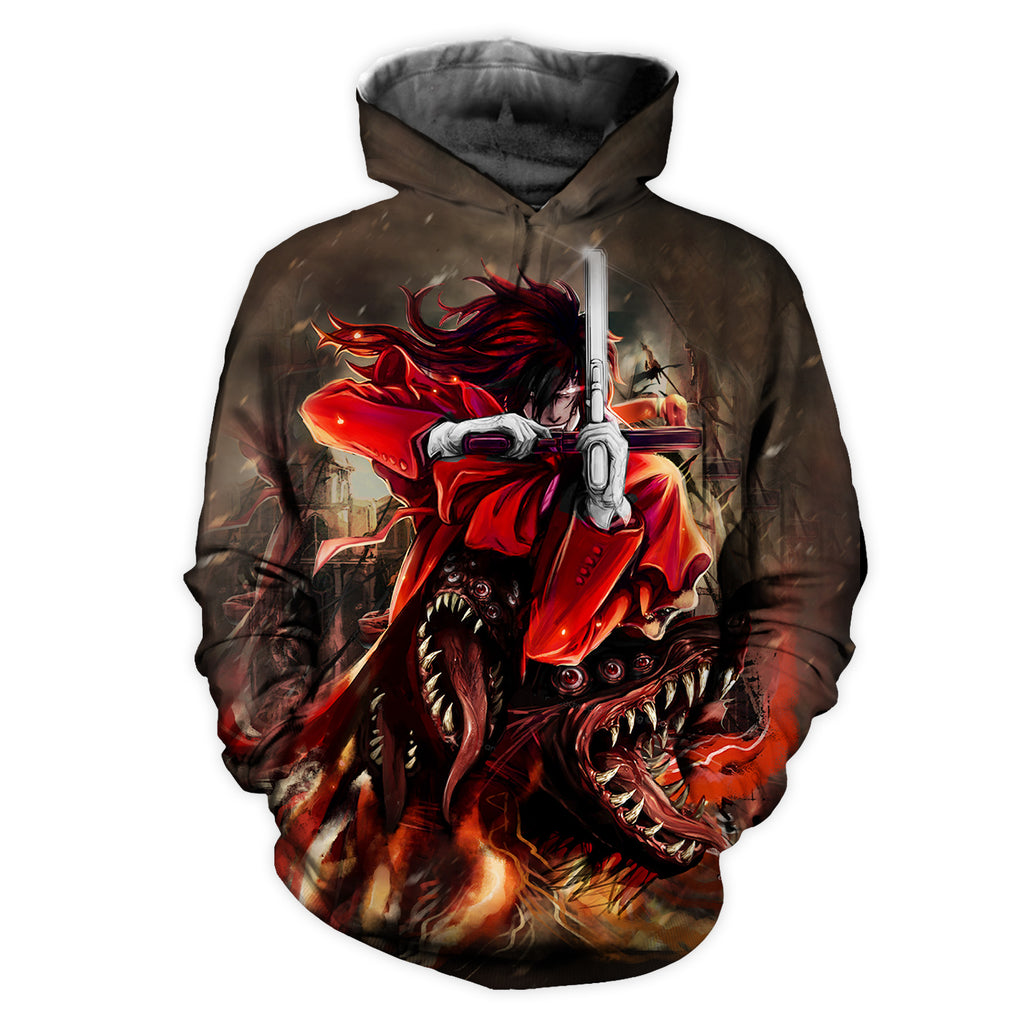 Hellsing All Over Print Hoodie