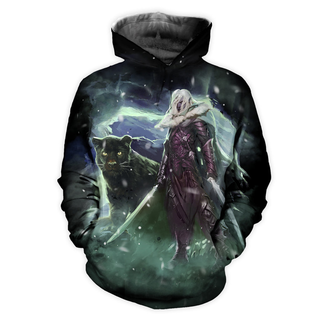 Drizzt Do'Urden All Over Print Hoodie