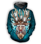 Forest Spirit All Over Print Hoodie