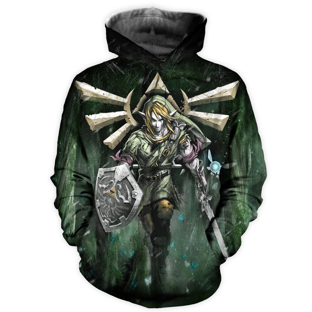 Link All Over Print Hoodie