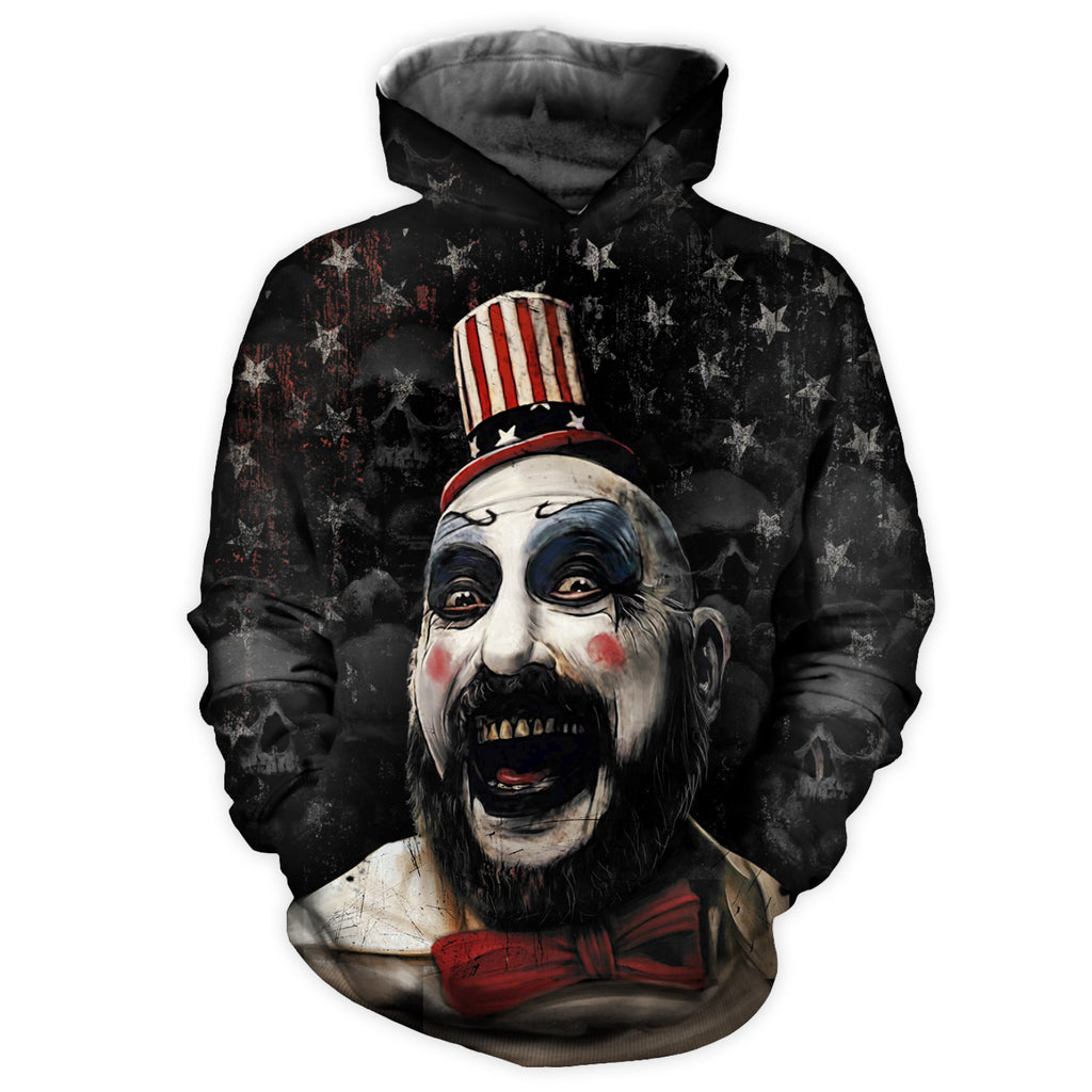 Captain Spaulding All Over Print Hoodie