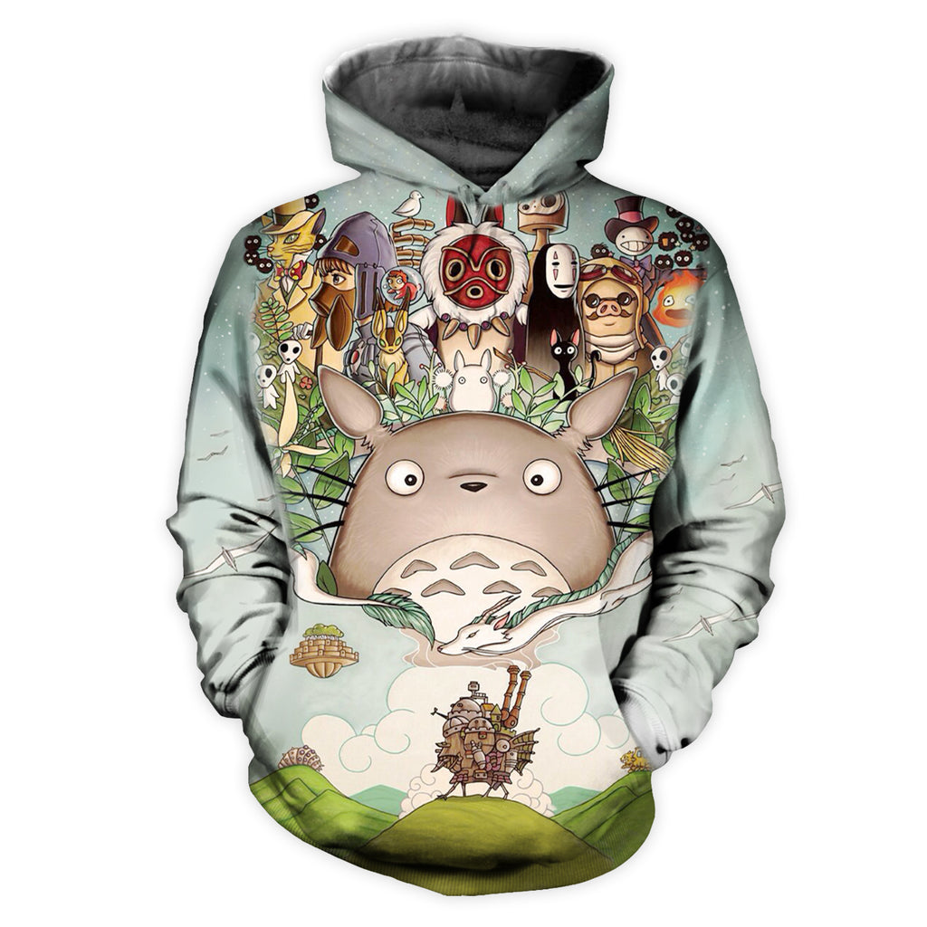 Princess All Over Print Hoodie
